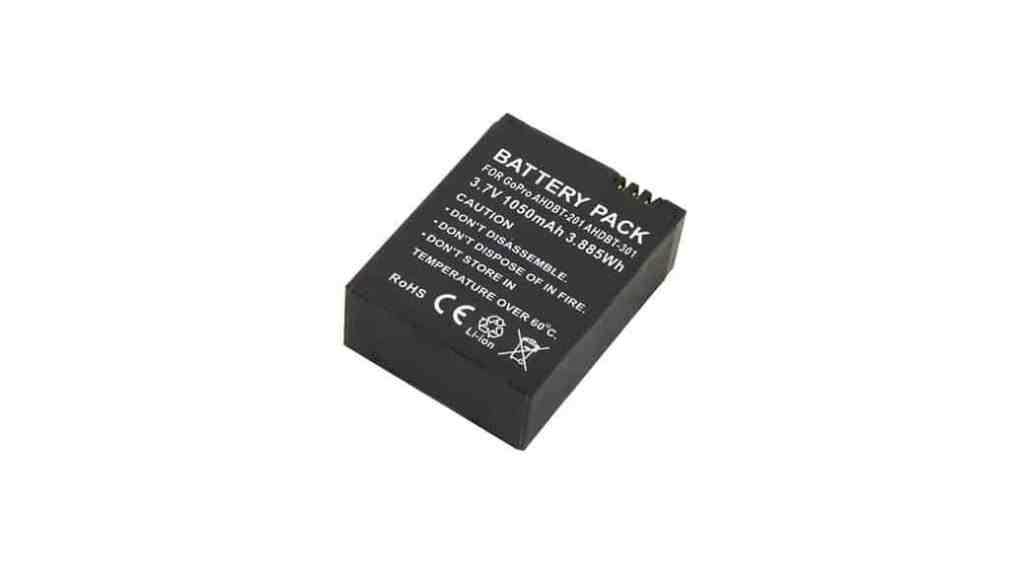 Baterías a precio de saldo para la cámara GoPro HERO 3, 3+