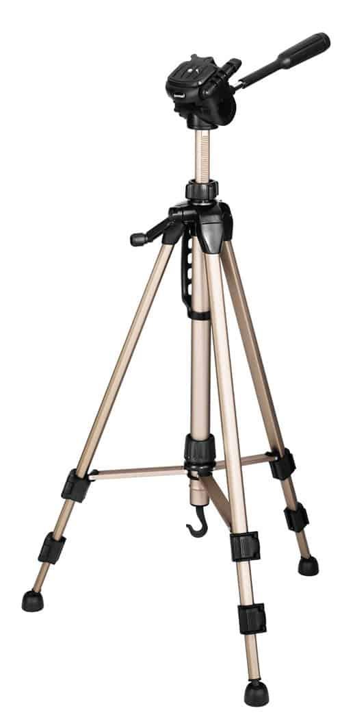 Comparativa de los mejores trípodes por calidad precio que puedes comprar: Hama Star 61 - Trípode completo, Gris y Negro