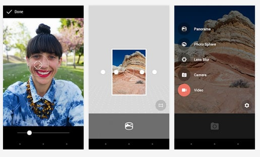 Cámara de Google APP Android