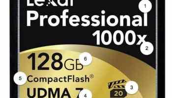 Tarjeta de memoria Compact Flash
