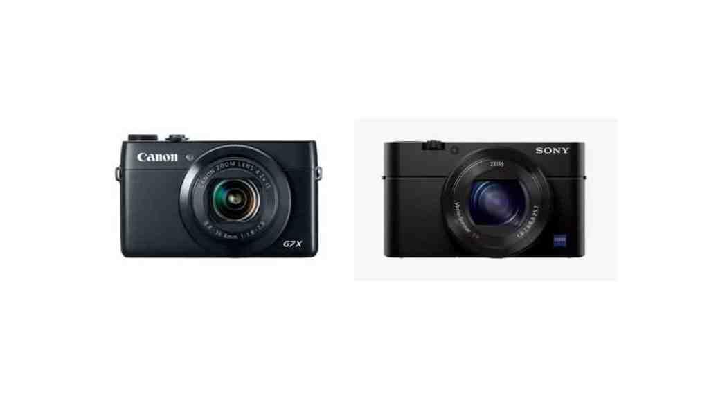 Comparativa cámaras compactas: Canon Powershot G7 X vs Sony Cyber-shot RX100 MIII