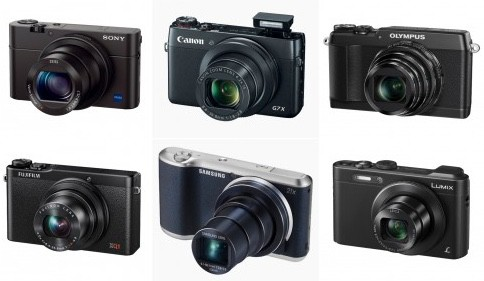 Comparativa de las mejores cámaras compactas pequeñas de 2014