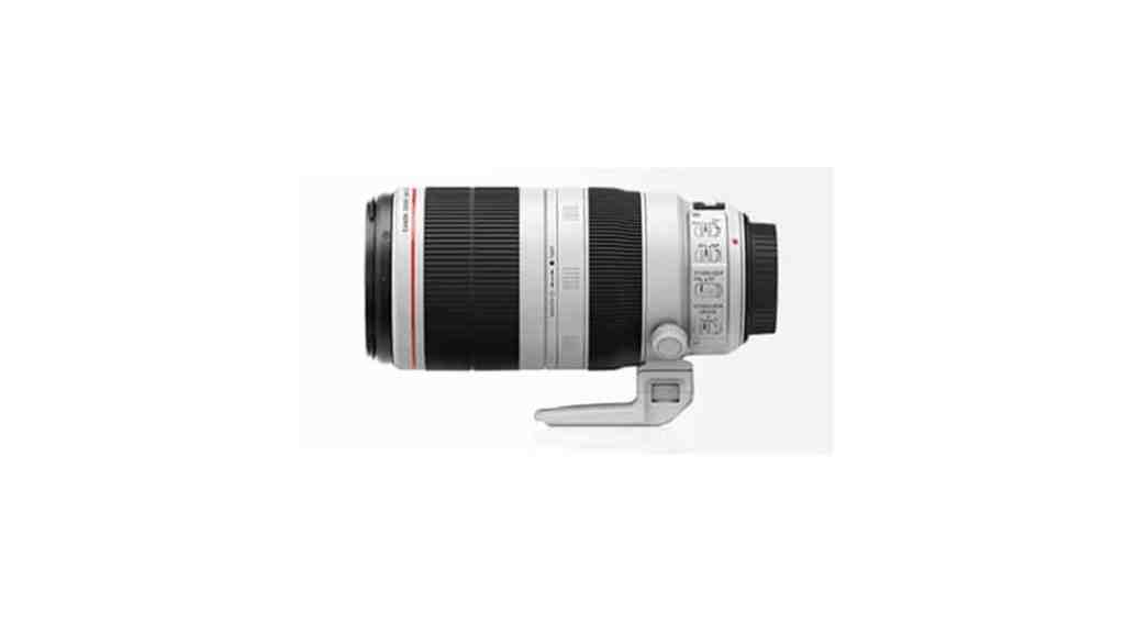 Se filtra la primera foto del objetivo Canon EF 100-400mm f / 4,5-5,6L IS USM versión 2