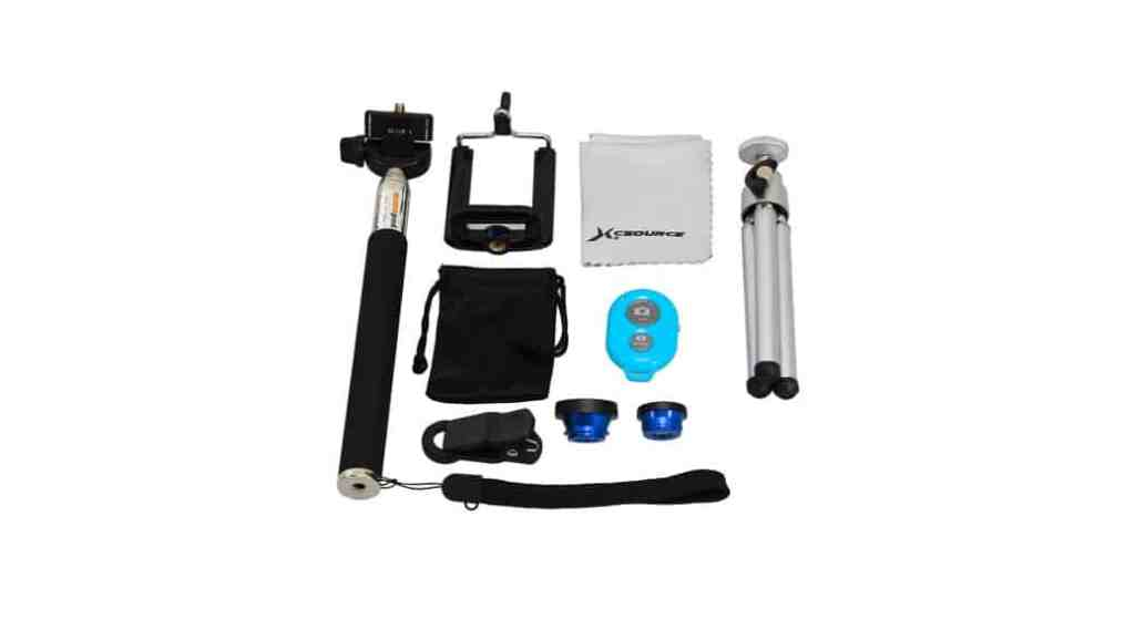 ¿Buscando un tripode, unas lentes y un monopod para tu iPhone por menos de 20 euros?
