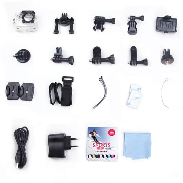 SJCAM WIFI SJ4000 accesorios