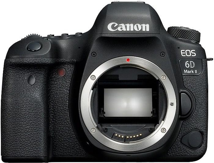 Cámaras Canon DSLR:Canon EOS 6D Mark II