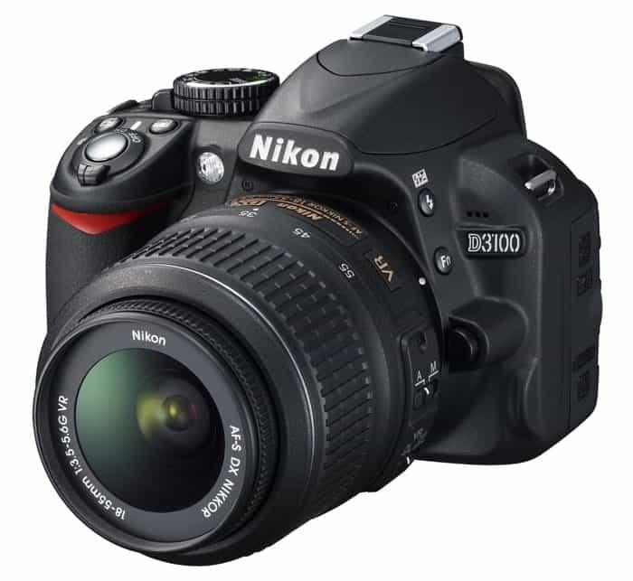 Cámaras Nikon DSLR para principiantes: Nikon D3100