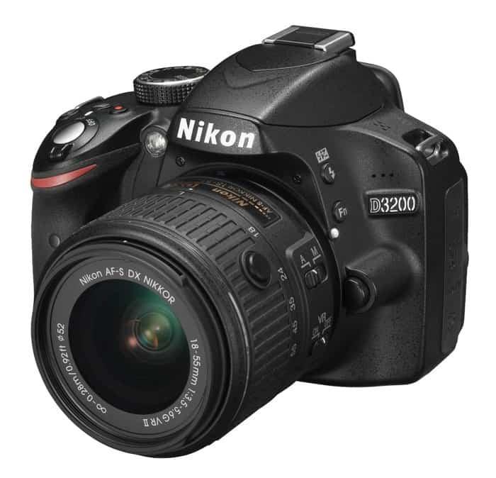 Cámaras Nikon DSLR para principiantes: Nikon D3200