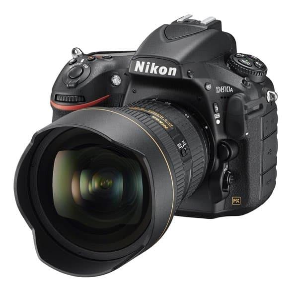 Cámaras Nikon DSLR para profesionales: Nikon D810A