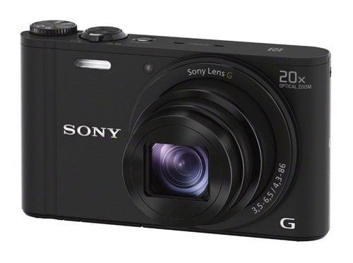 Cámaras compactas de Sony: Sony WX350