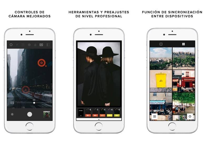 La mejor aplicación gratuita para sustituir a la app oficial de la cámara tu iPhone: VSCO Cam