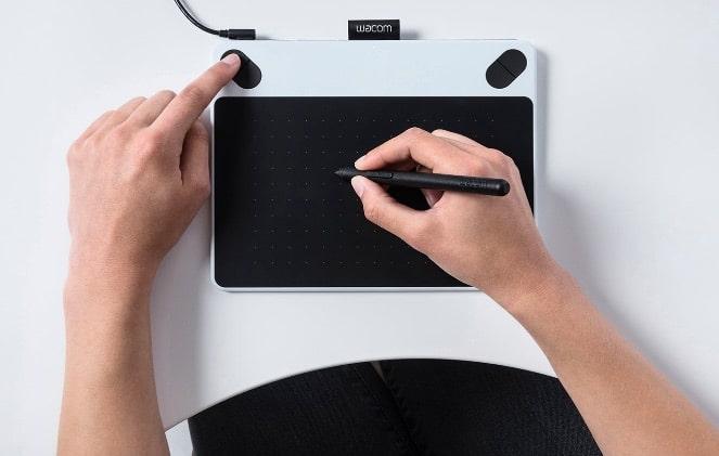 Wacom CTL-490DW-S Intuos Draw Tableta gráfica