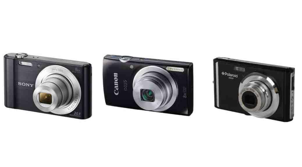 Las 3 mejores cámaras compactas por menos de 100 euros