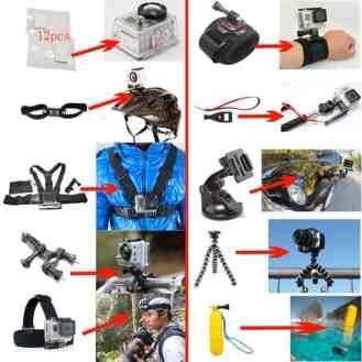 kit accesorios gopro hero
