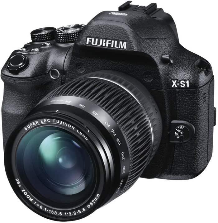 Cámaras Bridge de Fuji: Fujifilm X-S1