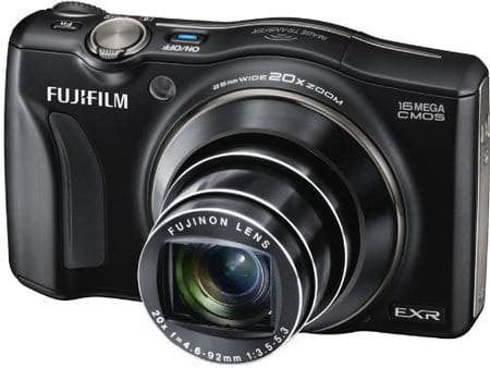 Cámaras compactas de Fuji: Fujifilm Finepix F800EXR
