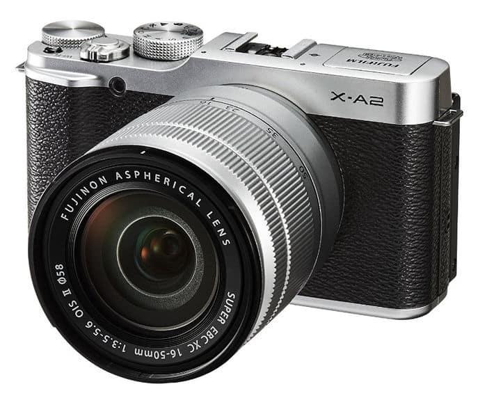Cámaras CSC (EVIL) de Fuji: Fujifilm X-A2