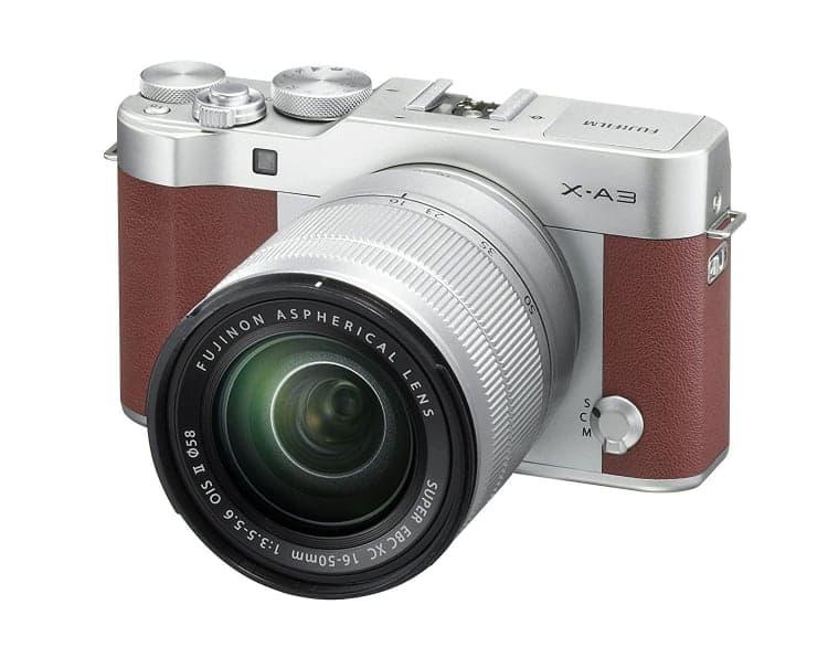 Cámaras CSC (EVIL) de Fuji:Fujifilm X-A3