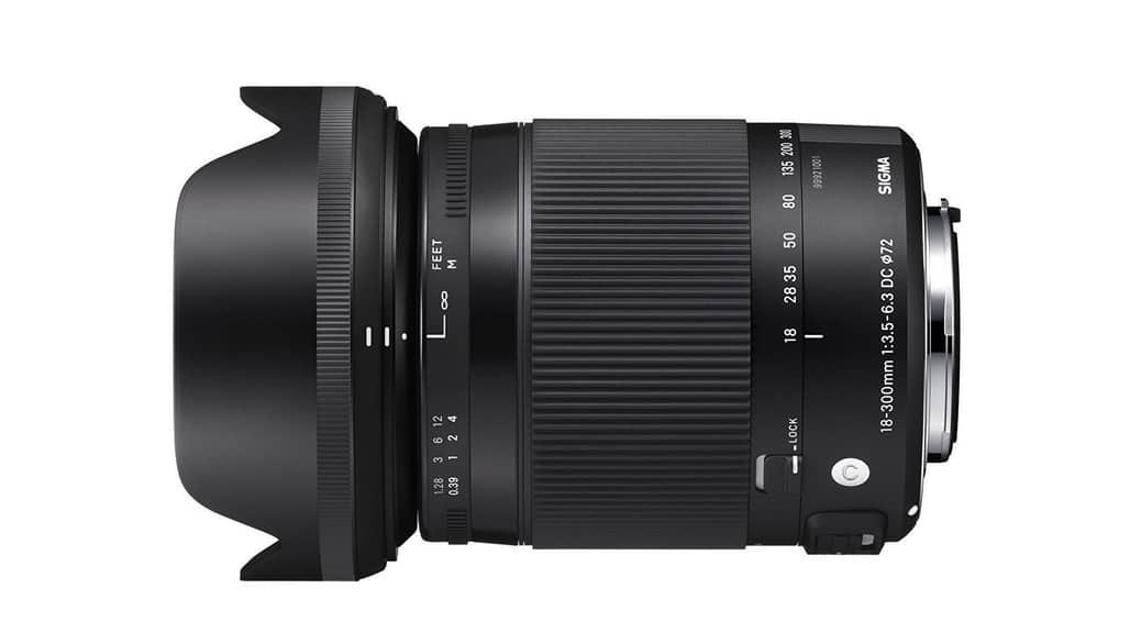 Sigma 18–300mm f/3.5-6.3 DC Macro OS HSM | C