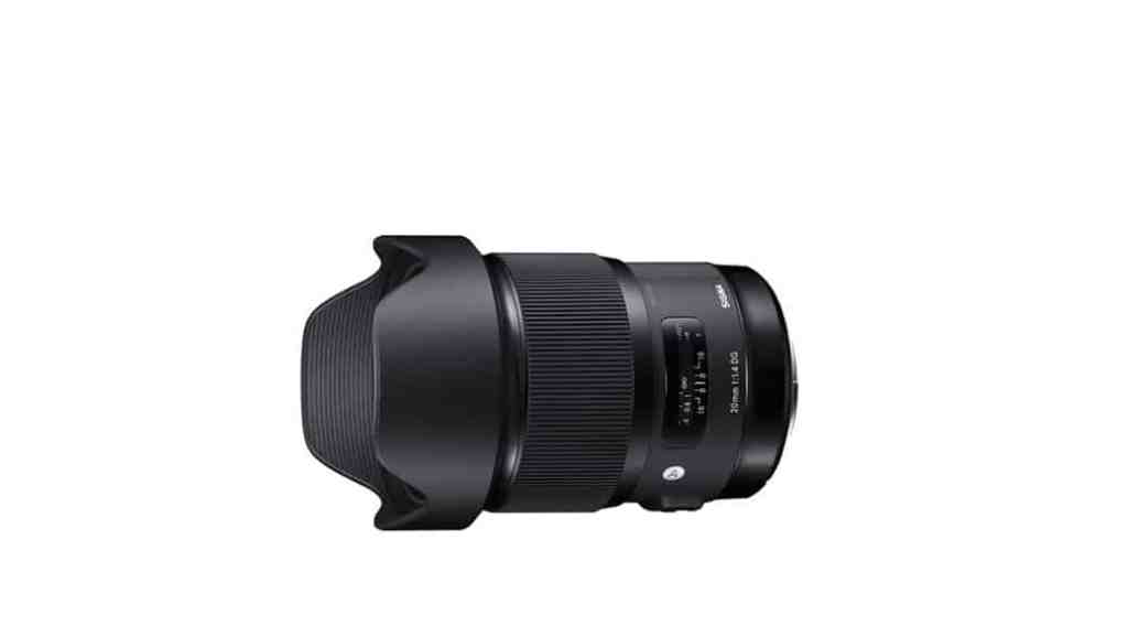 Sigma 20mm f/1.4 DG HSM - Nuevo objetivo para cámaras full-frame DSLR
