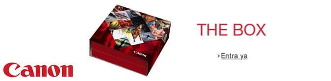 Promoción de Canon - The Box Experience