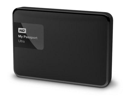 Western Digital My Passport Ultra - Disco duro externo de 1 TB (2.5'', USB 3.0)