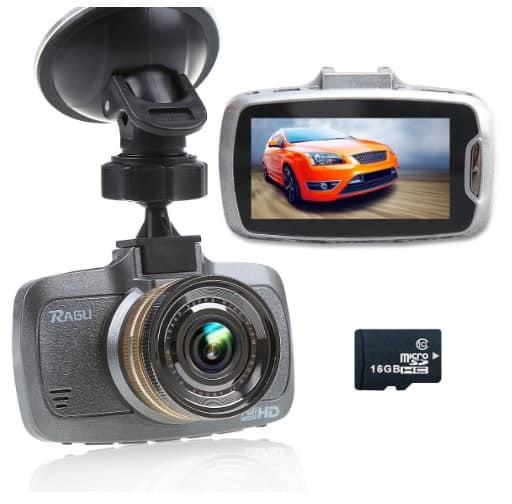 Ragu W23 - Videocámara DVR para coche