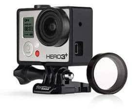 Filtro UV protector de lente para cámaras GoPro HERO4