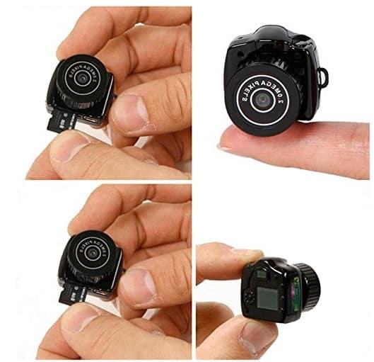¿Buscando una cámara espía? Japace Y2000 y TEKMAGIC MT-WIFI21