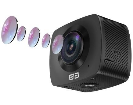 Elephone Elecam 360 WiFi Action Camera – Opinión