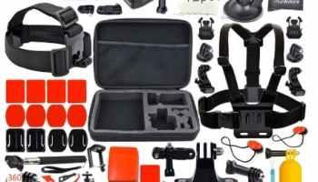 Leknes, accesorios para GoPro Hero 4, 3+, 3, 2, 1