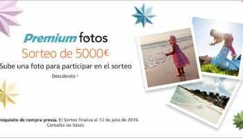 Sorteo de 5000 euros en amazon España