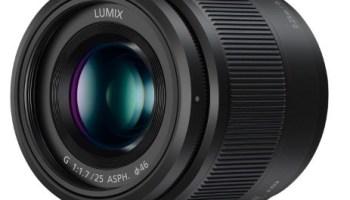Objetivo Panasonic LUMIX G 25 mm/F1.7 ASPH rebajado de precio por menos de 200 euros