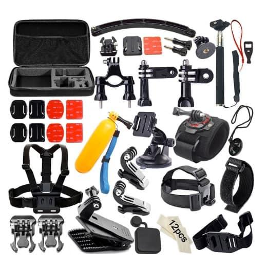 Soft Digits 50 en 1: 50 accesorios para cámaras GoPro HERO por menos de 20 euros
