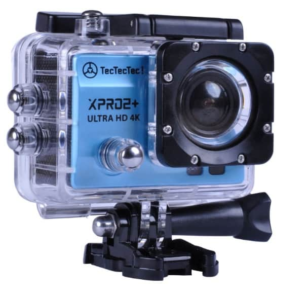TecTecTec XPRO2+ Videocámara deportiva 4K