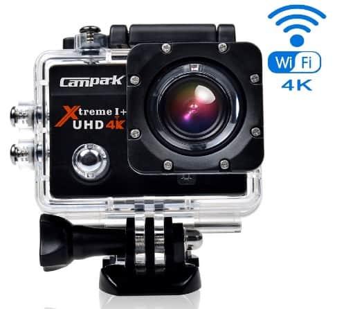 Campark® ACT74 4k Wifi Ultra HD Resistente al agua