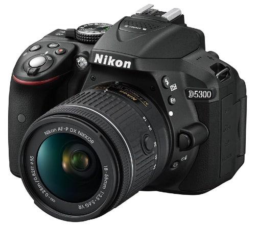 Nikon D5300 - Cámara réflex digital de 24.2 Mp