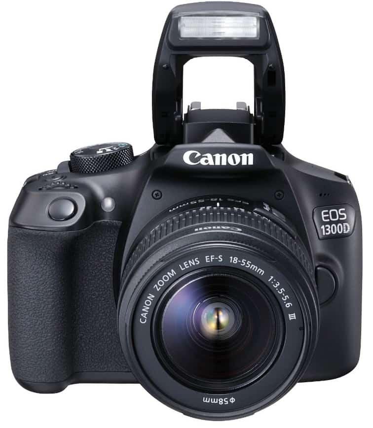 ¡Oferta! Canon EOS 1300D - Kit cámara digital y objetivo Canon EF-S 18-55 DC III