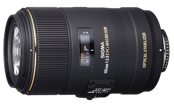 Sigma 105mm F2.8 EX DG OS HSM - Objetivo para Nikon (distancia focal fija 105mm, apertura f/2.8-22, diámetro 79mm)