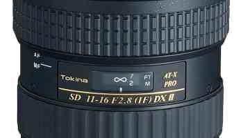 objetivo de Tokina, el Tokina 11 Pro DX2, que tiene más de un 20% de descuento.