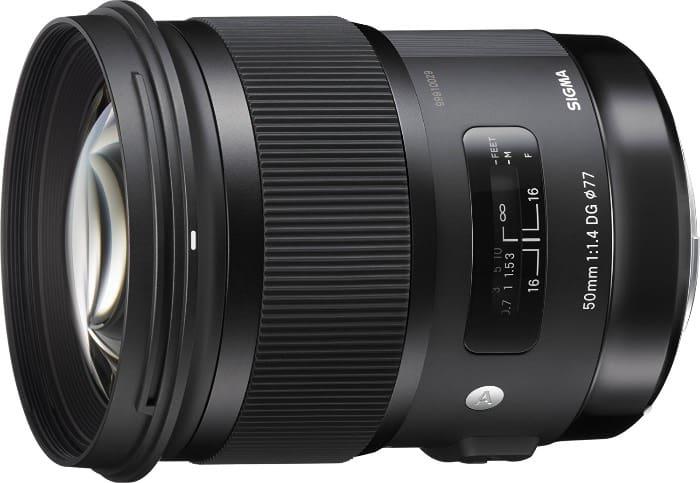 Sigma 50 mm DG HSM - Objetivo para Canon (50 mm, f/1.4)