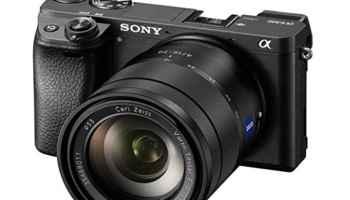 Sony Alpha A6300 camara