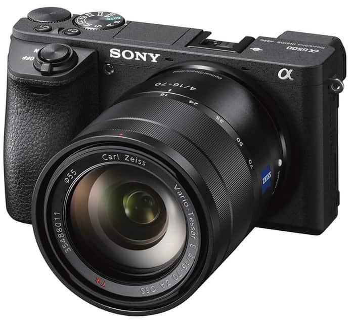 Sony Alpha A6500 camara