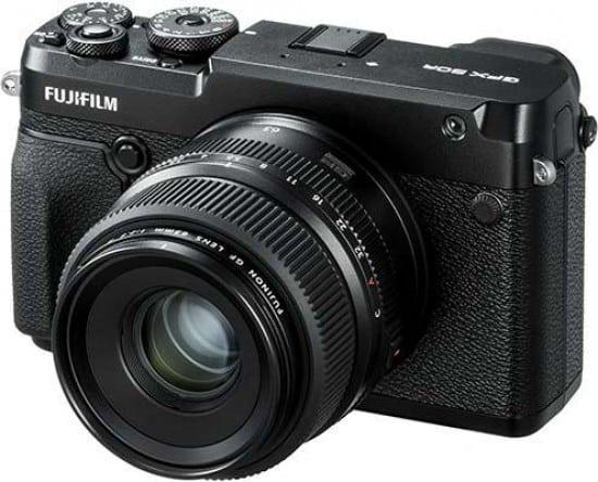 Cámaras CSC (EVIL) de Fuji:Fujifilm GFX 50R