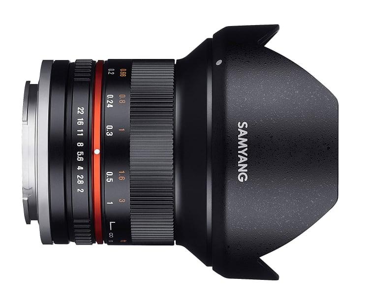 Samyang 12mm f/2-22 NCS CS