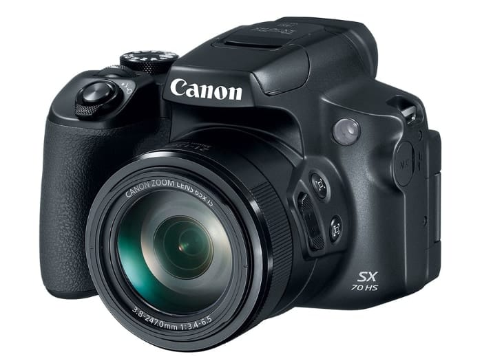 Cámaras bridge y superzoom de Canon:CanonPowerShot SX70