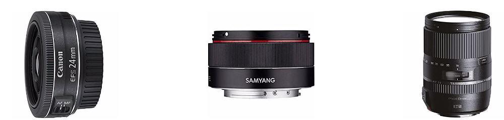 Hasta un -50% en selección de lentes para Canon, Nikon y Sony