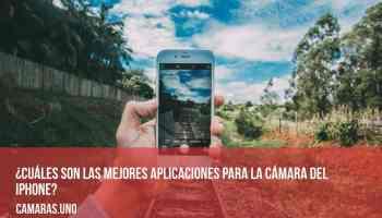 ¿Cuáles son las mejores aplicaciones para la cámara de tu iPhone?
