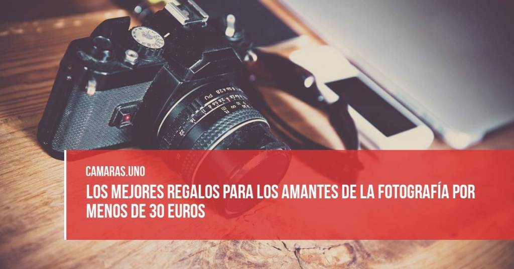 mejores regalos para los amantes de la fotografía por menos de 30 euros