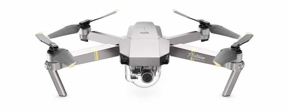 DJI Mavic Pro Platinum Fly More Combo - Dron Quadricóptero